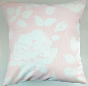 Cushion Cover in Cath Kidston Pink Mono Rose 16""